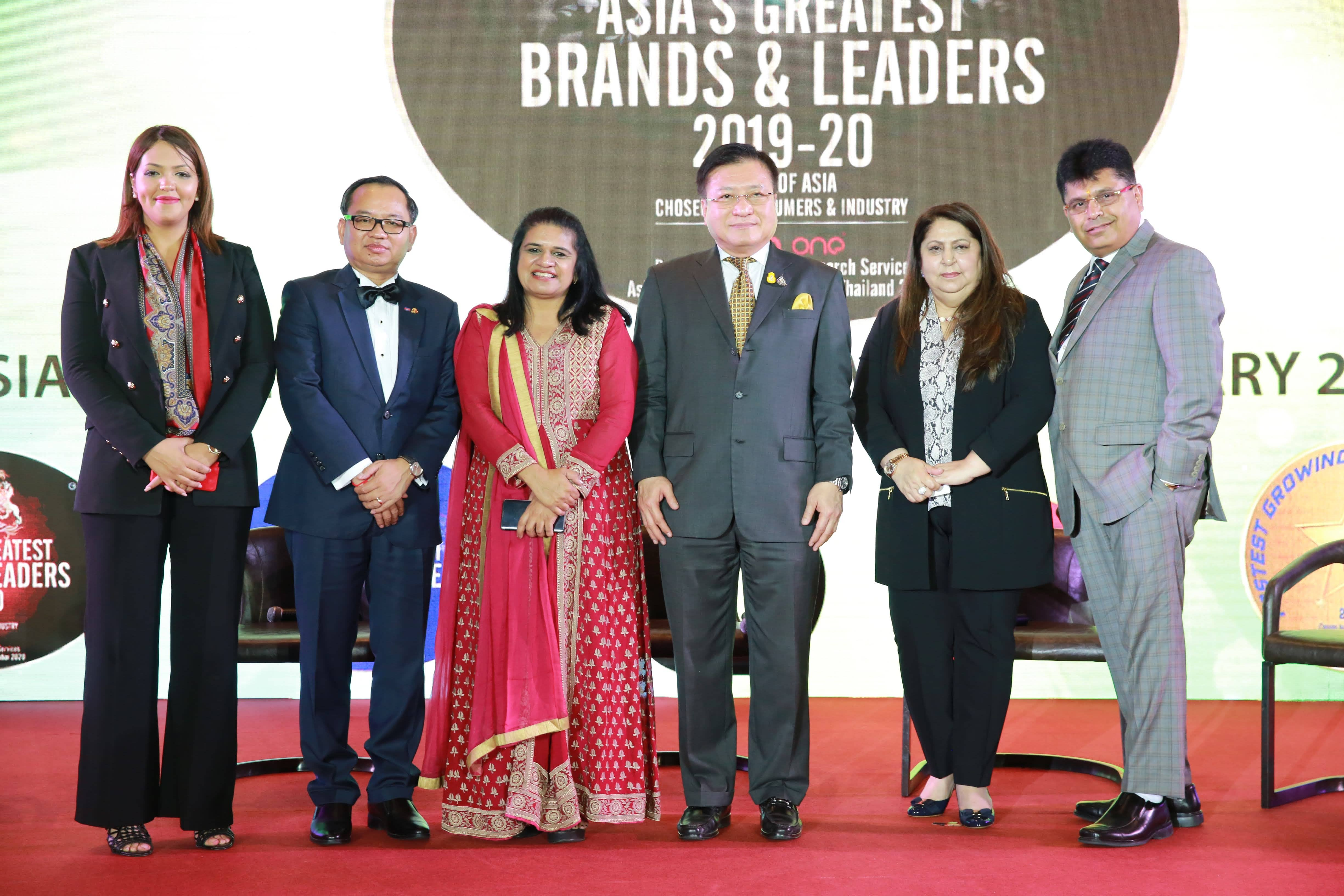 Asia's Greatest CSR and Brand Leaders of 2019-2020 @Bangkok - 07.02.2020