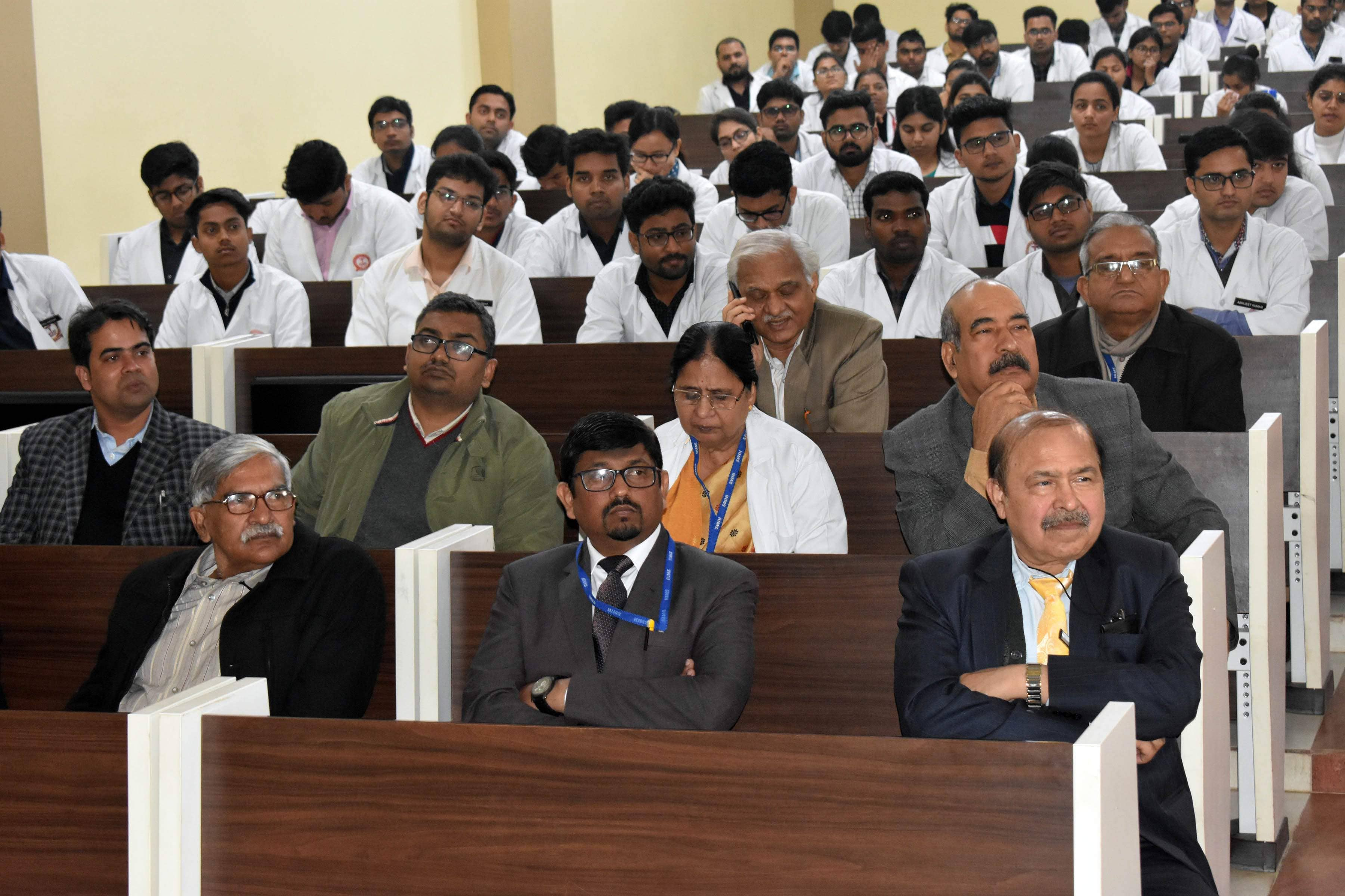 FIGO undertakes capacity building of medical and nursing students of The Heritage Institute of Medical Sciences @ Varanasi on 30th January 2020.
