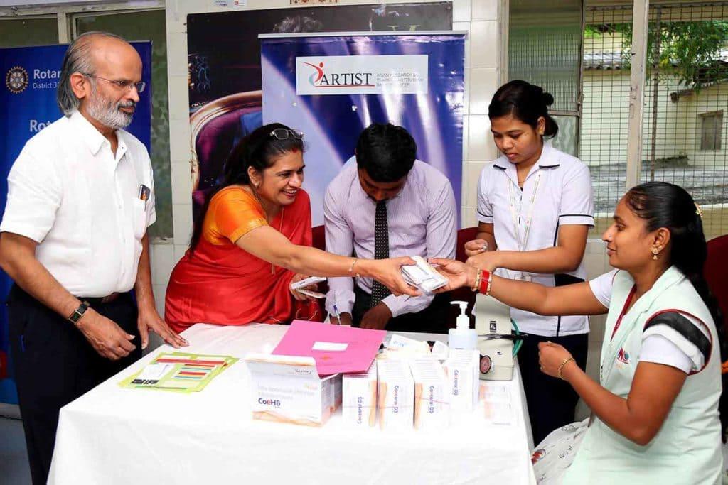 Health Camp at Aditya Birla Fashion Retail Ltd Bengaluru - 06.07.17