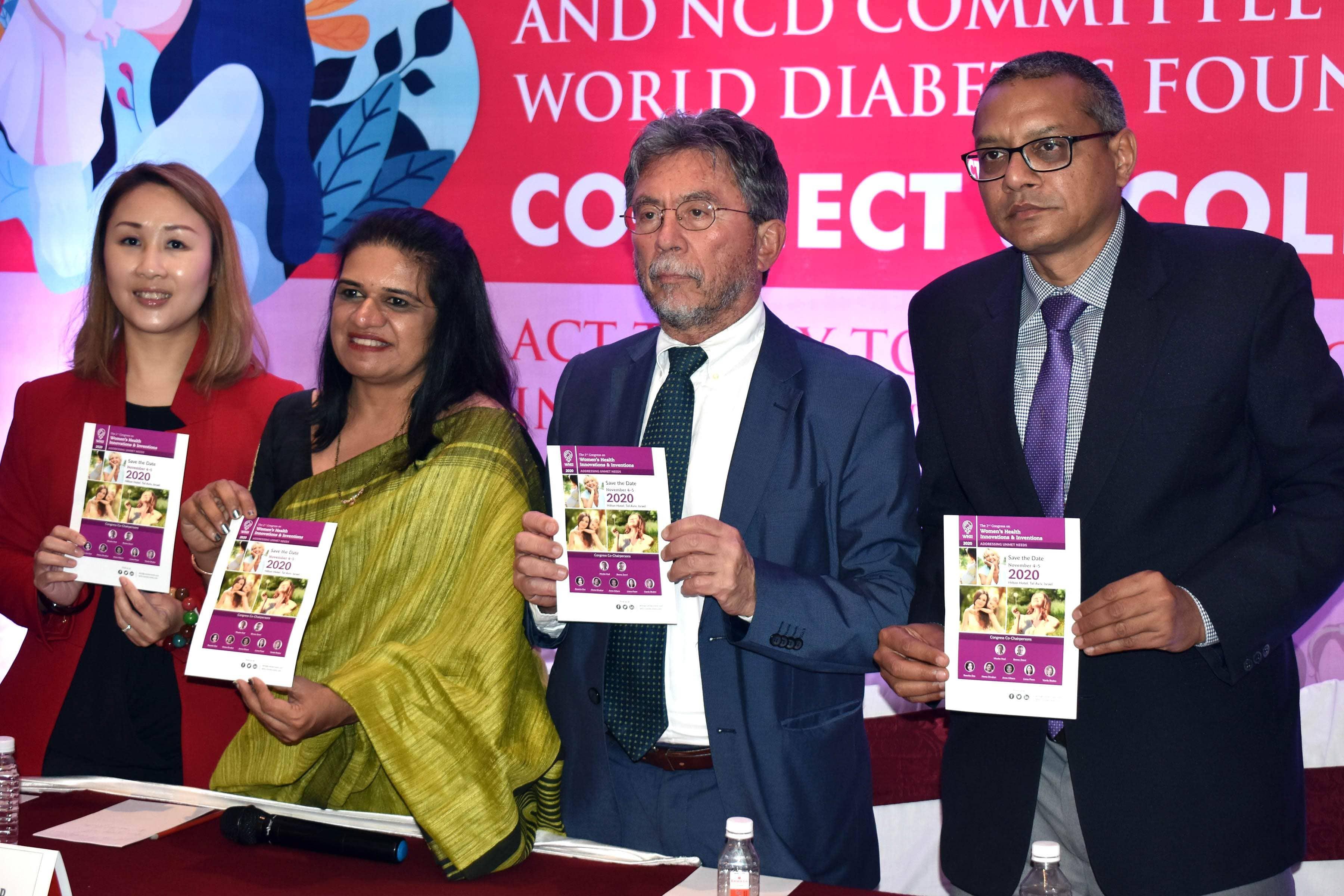 Pregnancy & Non-Communicable Diseases Committee (PNCDC) International Federation of Gynecology & Obstetrics (FIGO) @Ramada Plaza, Varanasi on 30th January 2020.