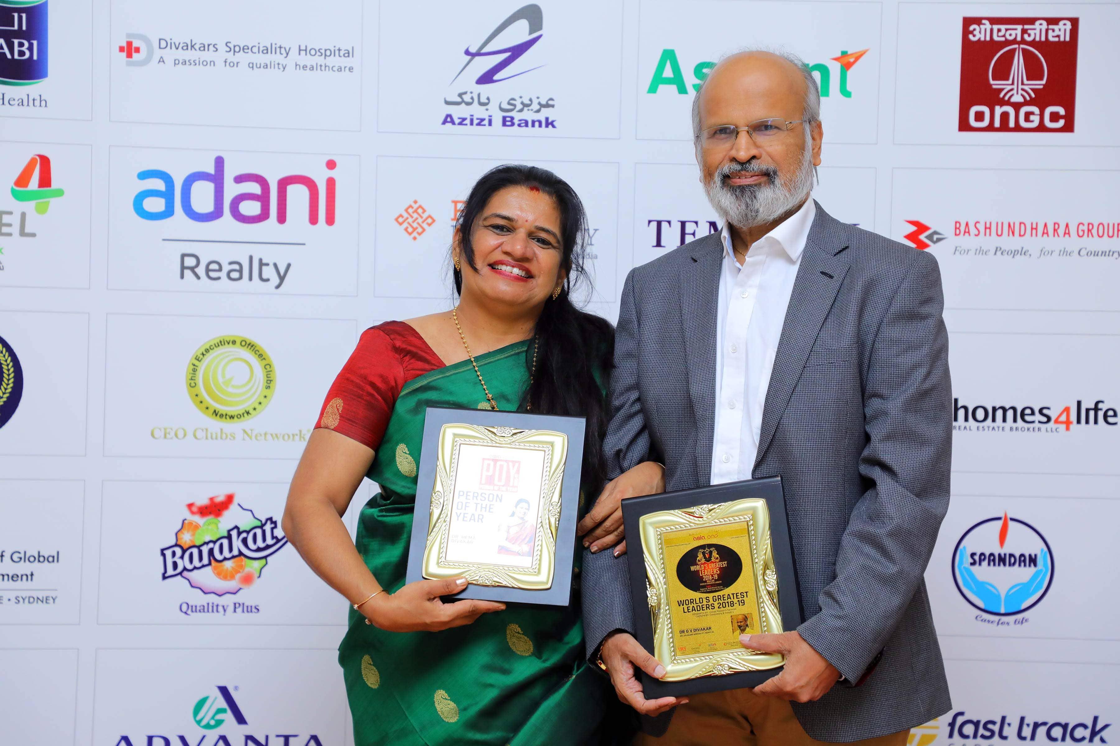 Dr Hema Divakar is Global Asian of the Year